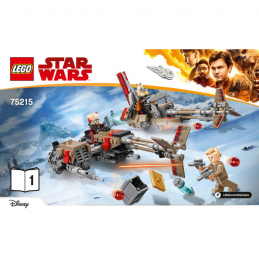 Notice / Instruction Lego Star Wars  75215