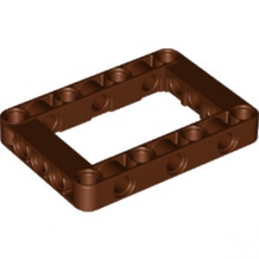 LEGO 6232235 BEAM FRAME 5X7 Ø 4.85 - REDDISH BROWN