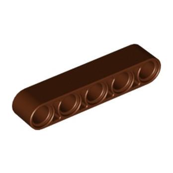 LEGO 6179636 TECHNIC 5M BEAM - REDDISH BROWN lego-6179636-technic-5m-beam-reddish-brown ici :