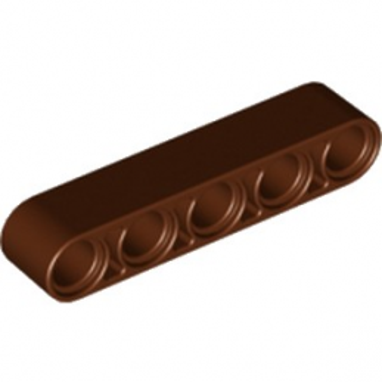 LEGO 6179636 TECHNIC 5M BEAM - REDDISH BROWN
