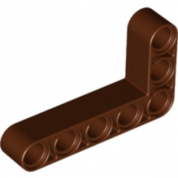 LEGO 6179617 TECHNIC ANG. BEAM 3X5 90 DEG. - REDDISH BROWN
