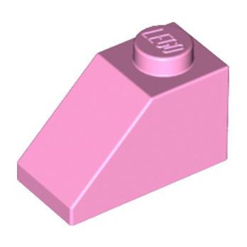 LEGO 4517995 TUILE 1X2/45° - ROSE CLAIR
