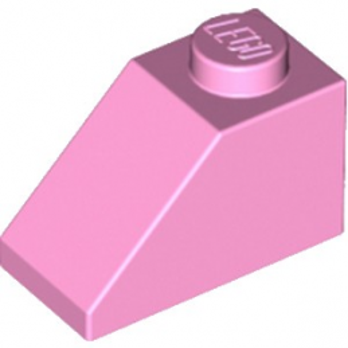 LEGO 4517995 TUILE 1X2/45° - ROSE CLAIR lego-4517995-tuile-1x245-rose-clair ici :