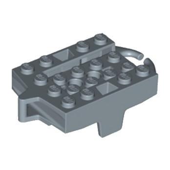 LEGO 6227608 CHASSIS 4X5 POUR RAIL - SAND BLUE