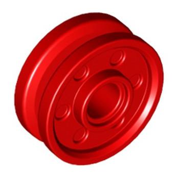 LEGO 6048859  JANTE Ø18x7 / Ø4.8 - ROUGE
