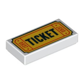 LEGO  6192534 IMPRIME 1X2 - TICKET