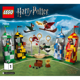 Notice / Instruction Lego Harry Potter  75956
