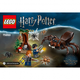 Notice / Instruction Lego Harry Potter  75950