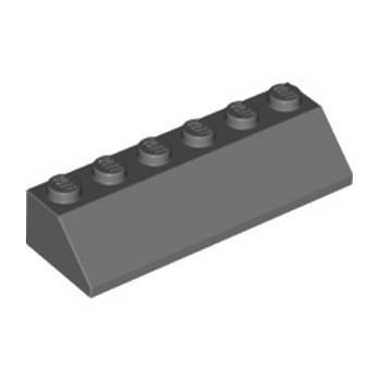 LEGO 6230281 TUILE 2X6 45° - DARK STONE GREY