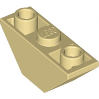 LEGO 6227233 DOUB. INVERT.ROOF TILE 1X3/45° - BEIGE