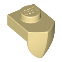 LEGO 6143058 DENT / GRIFFE 1X1 - BEIGE