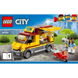 Notice / Instruction Lego City 60150
