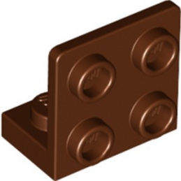 LEGO 6226436 ANGULAR PLATE 1.5 BOT. 1X2 2/2 - REDDISH BROWN