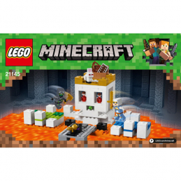 Notice / Instruction Lego  Minecraft 21145