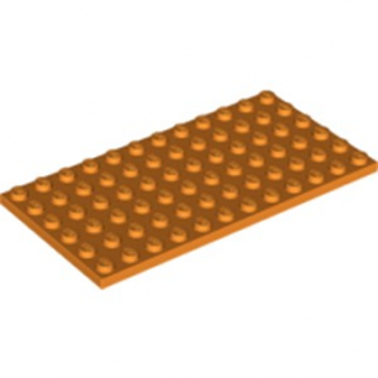 LEGO 6223445 PLATE 6X12 - ORANGE