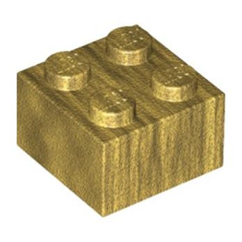 LEGO 6162889 BRIQUE 2X2 - WARM GOLD