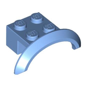 LEGO 6195545 GARDE BOUE 2X4X1 - MEDIUM BLUE