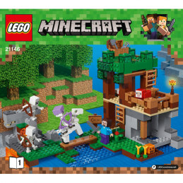 Notice / Instruction Lego  Minecraft 21146