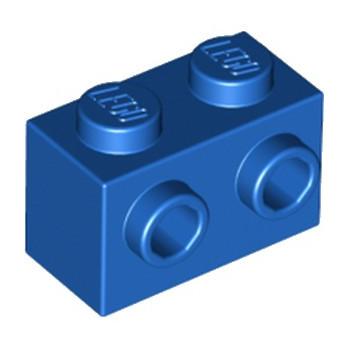 LEGO 6189191 BRIQUE 1X2 W. 2 KNOBS - BLEU