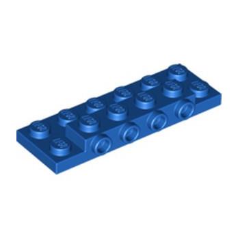 LEGO  6102539 PLATE 2X6X23 W 4 HOR. KNOB - BLEU