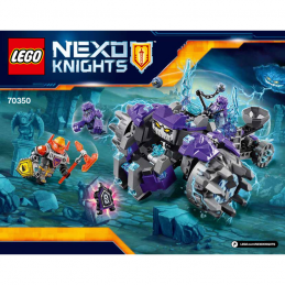 Notice / Instruction Lego Nexo Knight 70350
