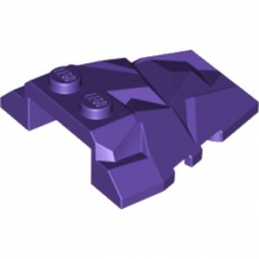 LEGO 6169917 ROOF ROCK TILE 4X4 W.ANGLE - MEDIUM LILAC