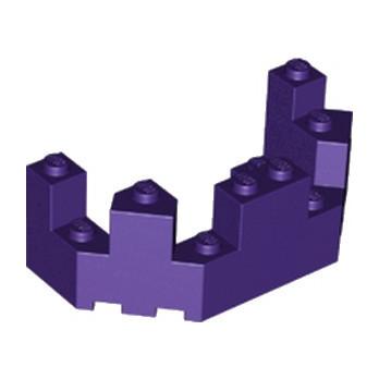 LEGO 6169694 BALCON / TOURELLE 4X8X2 - MEDIUM LILAC lego-6169694-balcon-tourelle-4x8x2-medium-lilac ici :