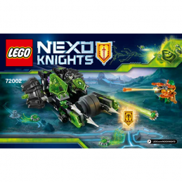 Notice / Instruction Lego Nexo Knight 72002