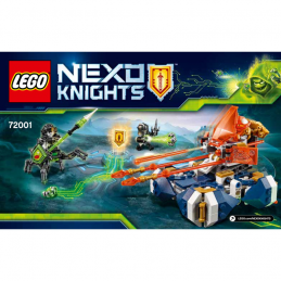 Notice / Instruction Lego Nexo Knight 72001