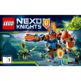 Notice / Instruction Lego Nexo Knight 72004