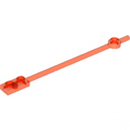 LEGO  6164074 BARRE 1X12 - ORANGE FLUO TRANSPARENT