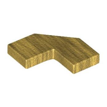 LEGO 6207046 PLATE LISSE 2X2, 2X2, DEG. 90, W/ DEG. 45 - WARM GOLD