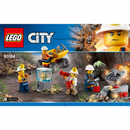 Notice / Instruction Lego City 60184