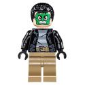 Mini Figurine LEGO® : Marvel Super Heroes - Masked Robber - Green Mask
