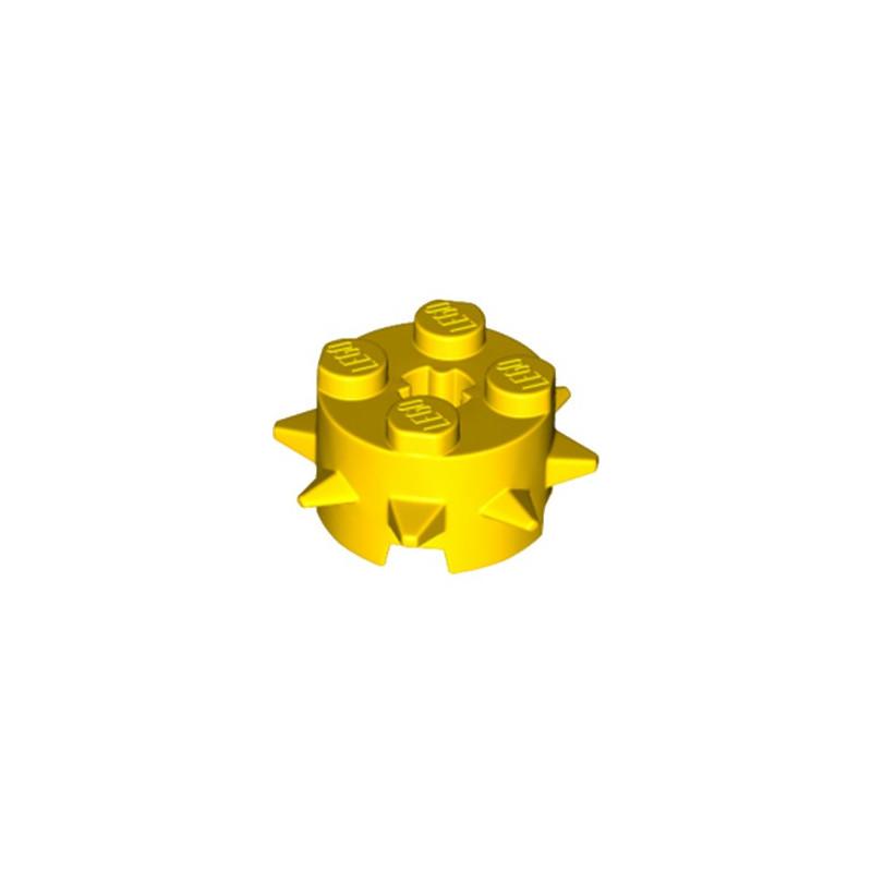 LEGO 6215043 ROND 2X2 AVEC PIC - JAUNE