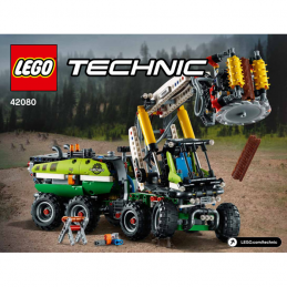 Notice / Instruction Lego TECHNIC - 42080