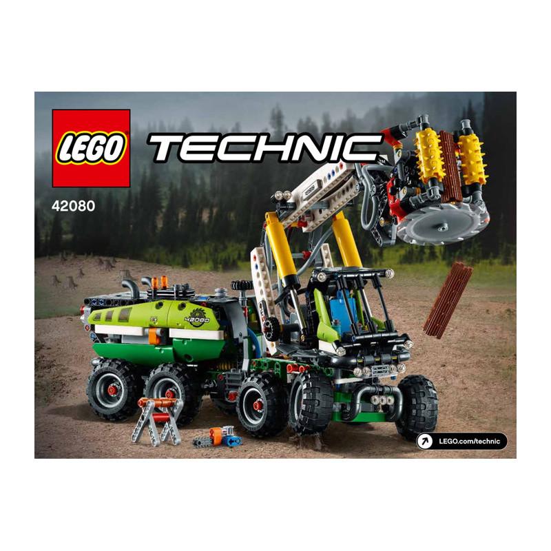 Notice / Instruction Lego TECHNIC - 42080