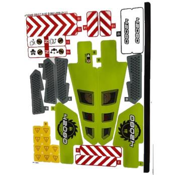 Stickers / Autocollant Lego Technic 42080 stickers-autocollant-lego-technic-42080 ici :