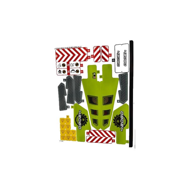 Stickers / Autocollant Lego Technic 42080