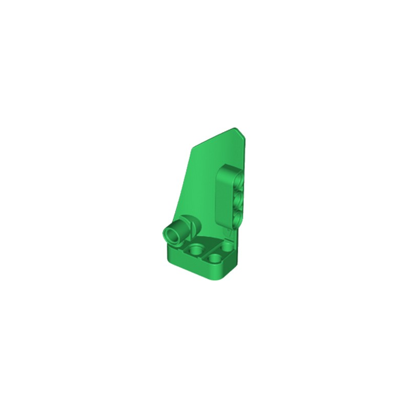 LEGO 6013552 TECHNIC RIGHT PANEL 3X7  - DARK GREEN