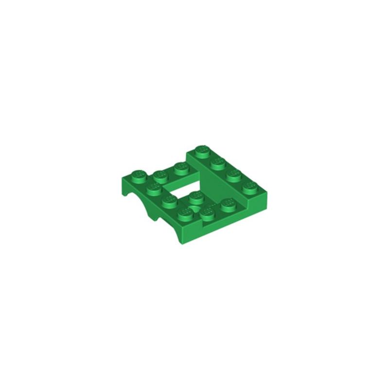 LEGO 6143741 GARDE BOUE 4X4X1 1/3 - DARK GREEN