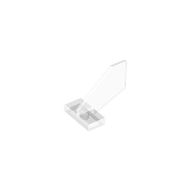 LEGO 6167673 GOUVERNAIL 2X3X2 - TRANSPARENT