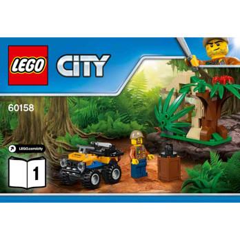 Notice / Instruction Lego City 60158