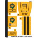 Stickers / Autocollant Lego City 60158