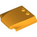 LEGO  6178466 CAPOT 4X4X2/3 - FLAME YELLOWISH ORANGE