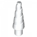 LEGO 6192793 CORNE SPIRALE 1.5 CM - BLANC