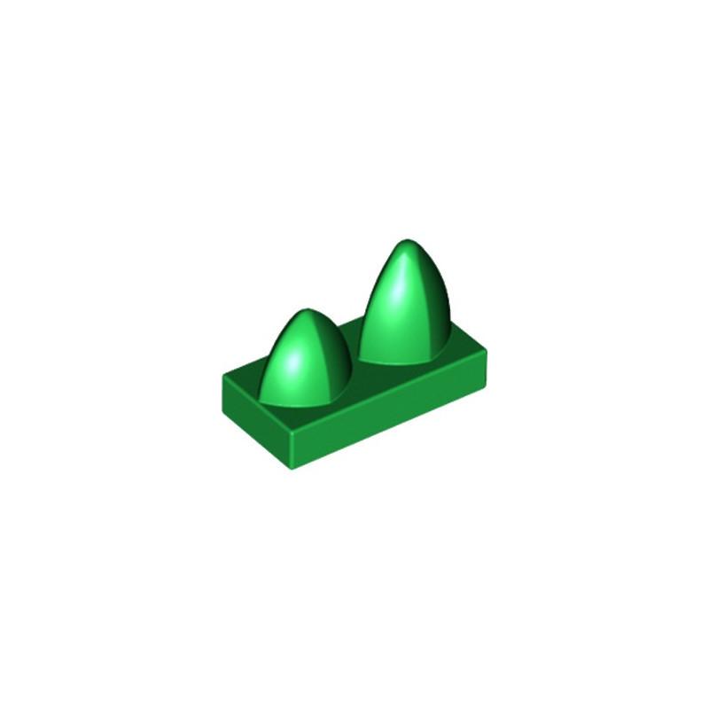 LEGO 6163467 DENT / GRIFFE 1X2 - DARK GREEN