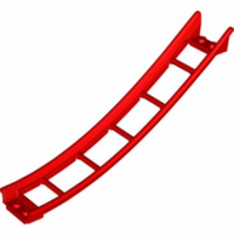 LEGO 6229121 RAIL 2X16X6, INV. BOW, W/ 3.2 SHAFT - ROUGE