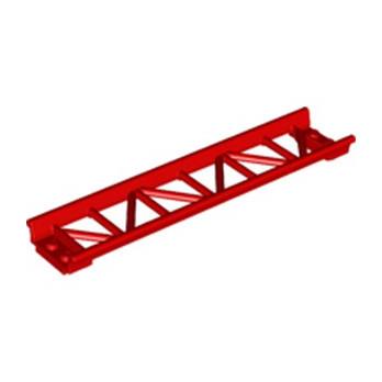 LEGO 6229099 RAIL DROIT 2X16, W/ 3.2 SHAFT - ROUGE