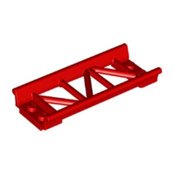 LEGO 6229117 RAIL DROIT 2X8, W/ 3.2 SHAFT - ROUGE